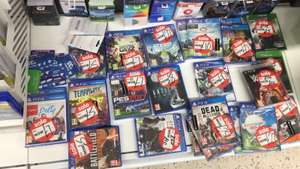 More Reduced Games @ ASDA Instore - Uncharted: Nathan Drake Collection (PS4) - £10 Terraway (PS4) - £5 Battlefield Hardline (PS4) - £5