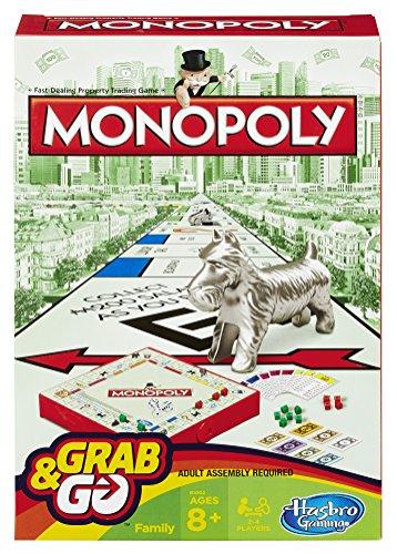 Hasbro Monopoly Grab and Go £2.50 (Amazon add-on)