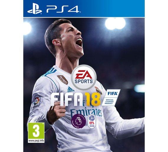 Fifa 18 ps4 £33.49 @ Argos