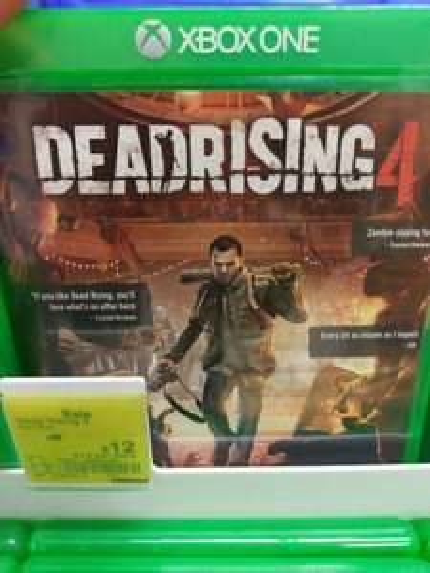 Dead rising 4 Xbox One adsa in-store 12.00
