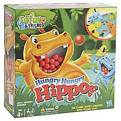 Hungry Hungry Hippos £8.50 @ Tesco Direct (Free C+C)