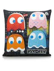 Pacman Cushion - 43x43cm now £5.60 C+C @ Asda George