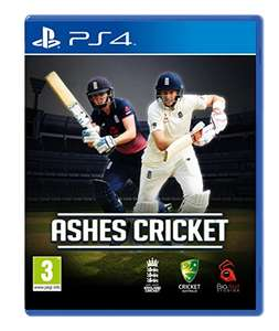 Ashes Cricket 2017 PS4/Xbox One @ amazon prime exclusive - £20.99