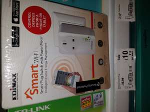Smart Plug Switch with Power MeterIntelligent Home Energy Management was £39.99 now £10.00 @asda Lincoln couple left , not sure what theses are like or how good