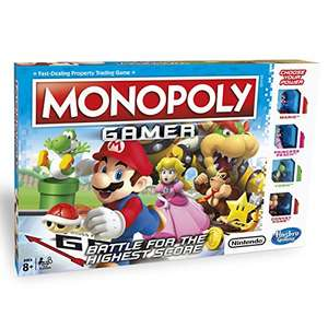 Monopoly Gamer Edition Now £17.50 @ Amazon Prime (£22.49 non Prime) *now price matched at Debenhams @17.50*