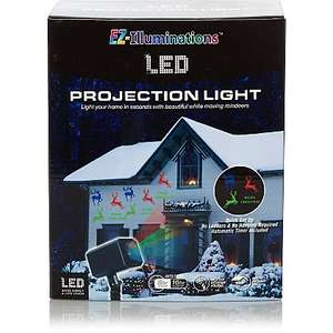 LED Christmas Projection Lights £10 in-store @Asda