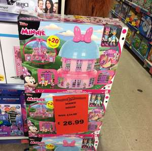 Minnie Mouse happy helpers house reduced to £26.99 instore at B&M Bargains