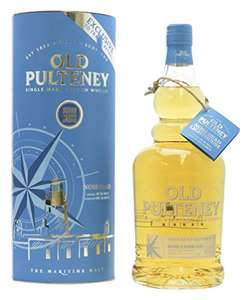Old Pulteney Noss Head Single Malt Scotch Whisky 1l at Amazon for £35