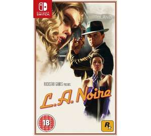 LA Noire Nintendo Switch Game // ARGOS - £26.99