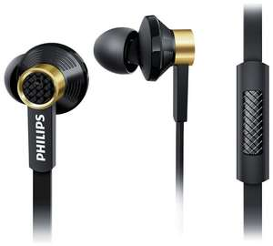 Philips TX2 In-Ear Headphones with Mic - Black and Gold - £17.99 - Argos
