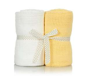 Two unisex cellular blankets from £7 to £3.50 from Asda george