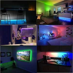 Lombex WiFi Smart Led Light Strip Flexible Tape Lighting Kit @ Amazon