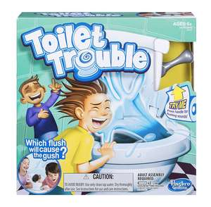 Toilet trouble game £13.07 Prime / £16.06 non prime @ Amazon