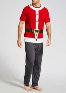 Elf and Santa Pyjamas for men £7 instore @ Matalan