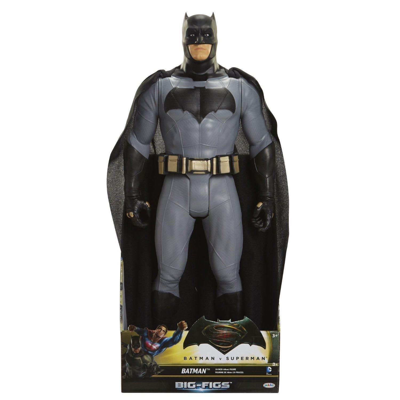Large Batman and iron man figures from £12 @ asda
