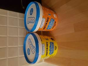 Protein oats 75g 39p at Home Bargains