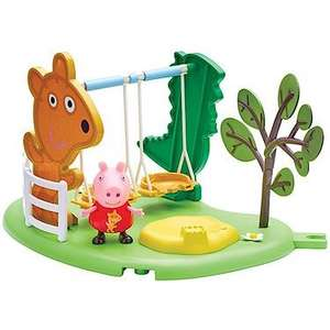 Peppa pig playground sets - slide / roundabout / swing. Watford ASDA £5