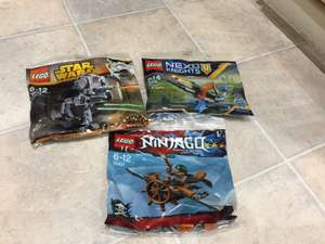 Lego polybags £2 in Poundland
