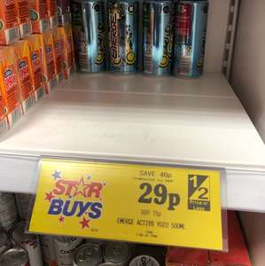 Emerge Energy Drink 500ml 29p - Home Bargains