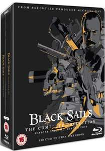 Black Sails: The Complete Collection (Serie 1-4) Limited Edition Steelbook Blu-ray £34.99 delivered @ Zavvi