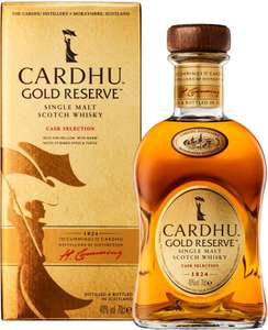 Cardhu Gold Reserve Single Malt Scotch Whisky Whiskey, 70 cl - Tesco Instore and Online