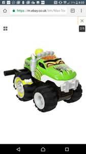 Radio controlled climbing max the tow truck free delivery £11.45 @argos eBay outlet