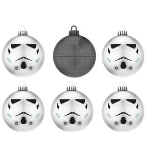 Star Wars - Christmas Baubles £6.85 @ ShopTo