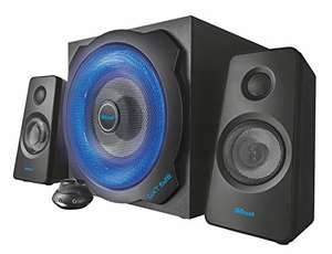 Trust GXT 628 2.1 PC Gaming Speaker System with Subwoofer - £49.99 @ Amazon