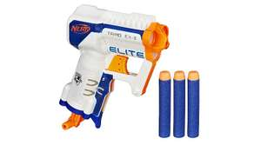 Nerf N-Strike Elite Triad EX-3 Blaster Was £9.97 Now £7 Free C&C @ Asda George