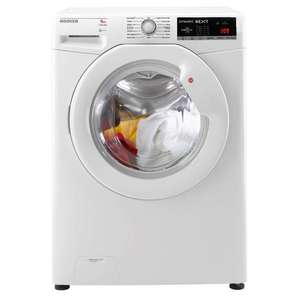 Hoover Dynamic DXOA49LW3 A+++ 9kg 1400 Spin Washing Machine in White £199 @Coop