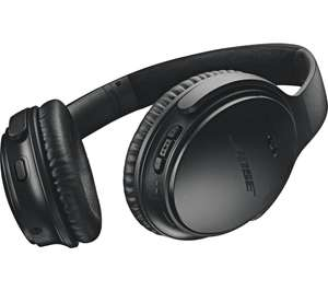 BOSE QuietComfort QC35 II Wireless Bluetooth Noise-Cancelling Headphones - Black - £296.95 @ Currys