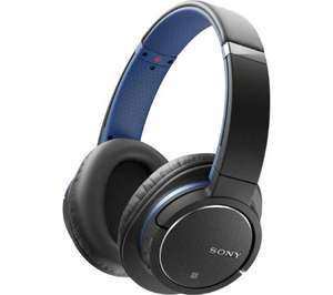 SONY MDR-ZX770BNL Wireless Bluetooth Noise-Cancelling Headphones - Blue, £72.19 from Currys