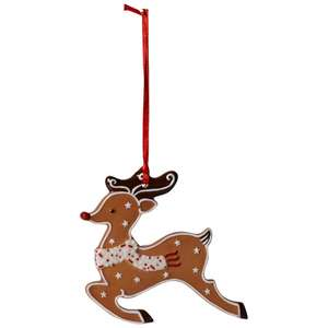 Gingerbread Reindeer for Xmas tree reduced to £6.95 @ Villeroy & Boch
