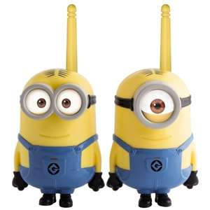 Despicable Me Minion / Spider man / Cars Walkie Talkies £7.99 @ B&M