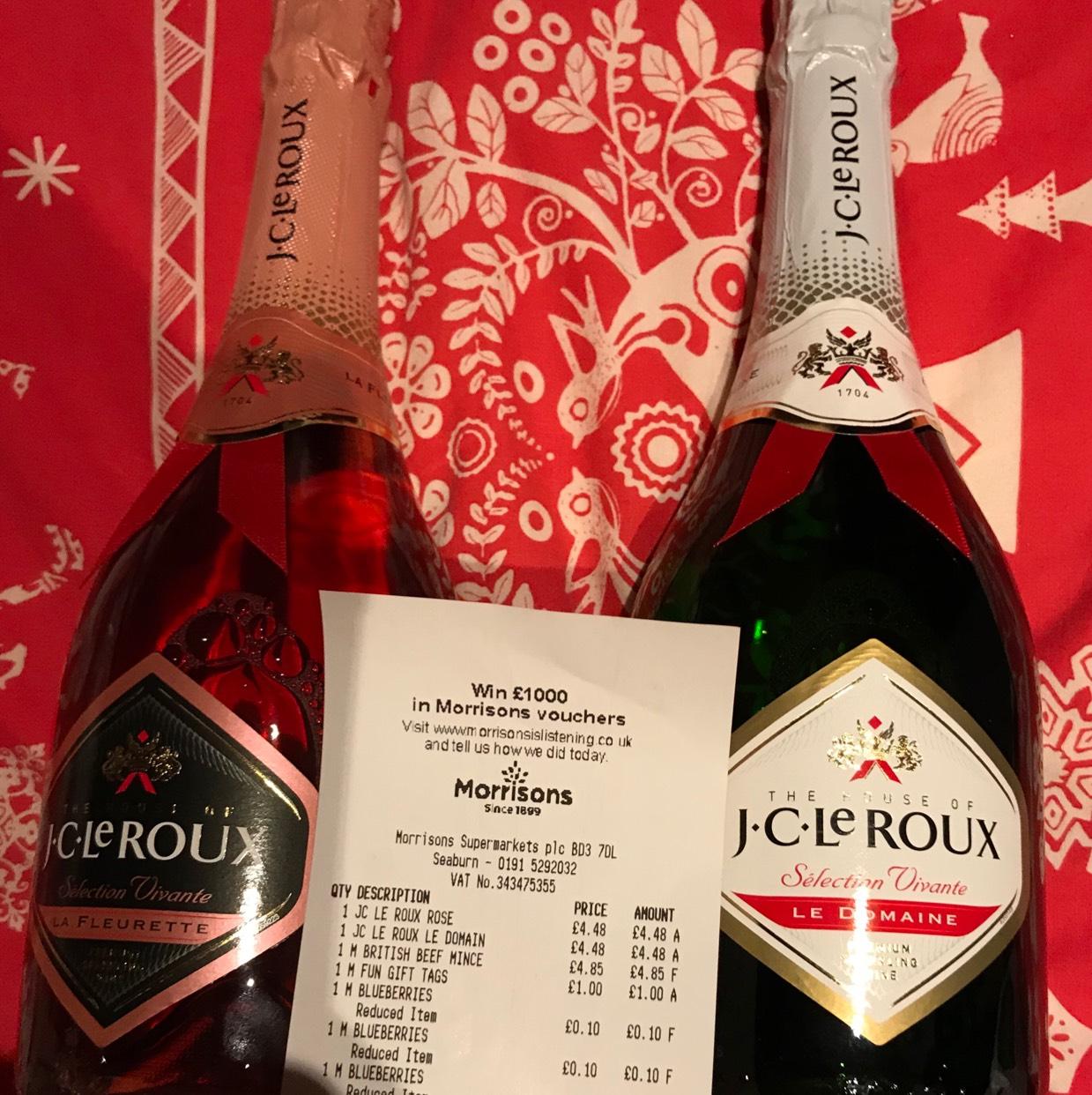 JC Le Roux Sparkling Wine - Morrisons Sunderland, Seaburn Instore - £4.48