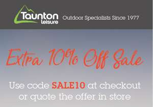 Extra 10% off sale items @ Taunton Leisure - Use code SALE10