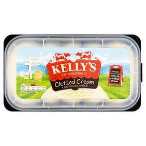 Kelly's of Cornwall Clotted Cream Cornish Ice Cream 1 Litre  £1.75 @ Iceland      17th Dec