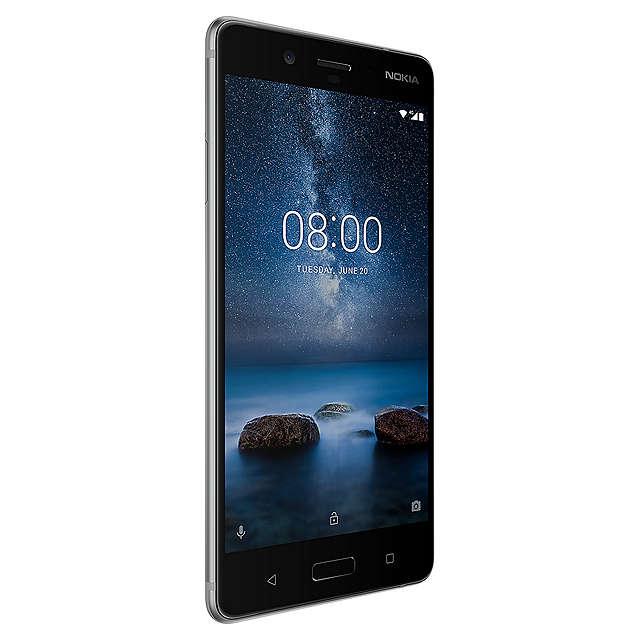"Nokia 8 Smartphone, Android, 5.3"", 4G LTE, SIM Free, 64GB 369.99 @ John Lewis"