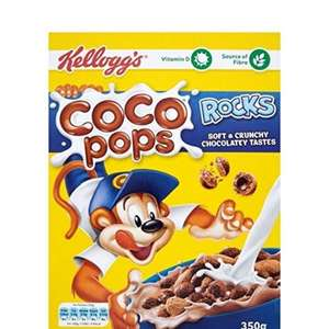 Coco Pops Coco Rocks 350 g (Pack of 5) ONLY £5.52 (using voucher + 15% S&S) @Amazon