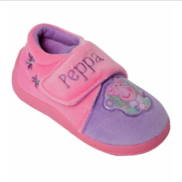 Peppa pig Slippers £3.99 @ Argos