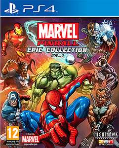 Marvel Pinball Greatest Hits – Volume 1 [PS4/XO] £9.99 GAME