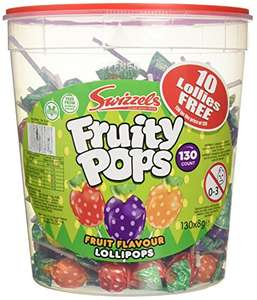 130 xSwizzles Matlow lollipops for £10.49 delivered @ Amazon/TopBrandDiscounts4u