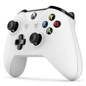 Official Xbox Wireless Controller - White £32.95 with  2 year guarantee Free C&C Online & In store @ John Lewis
