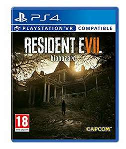 Resident Evil 7 Biohazard (PS4/XB1/PSVR) @ amazon for £15 Prime (£16.99 non Prime)