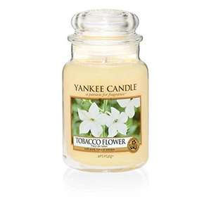 Yankee Candle Tobacco Flower Jar Candle, Yellow, Large from MySwift and FBA for £9.99 Prime (£13.98 non Prime)