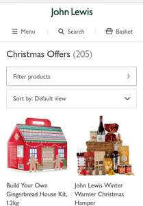 Up to 30% off Christmas products at John Lewis