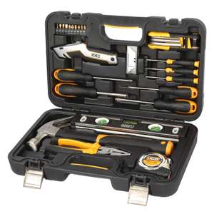 JCB 30 piece heavy duty tool kit at B&Q for £17