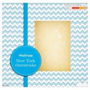 Waitrose Large New York cheesecake 1kg (Serves 12) - £3.50 @ Waitrose