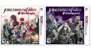 Fire Emblem Fates: Birthright - £16.99 & Fire Emblem Fates: Conquest - £19.99 at Ebay Argos