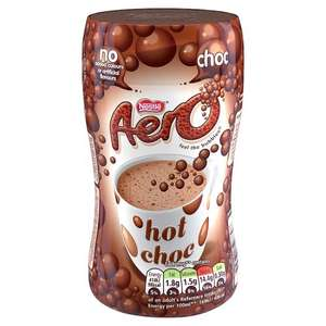 Nestle Aero Instant Hot Chocolate 288g @Home Bargains